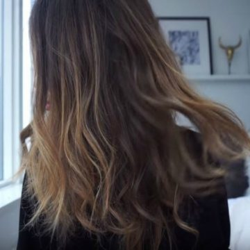 Cómo hacer Reflejos de pelo en casa sin dañar en 5 pasos