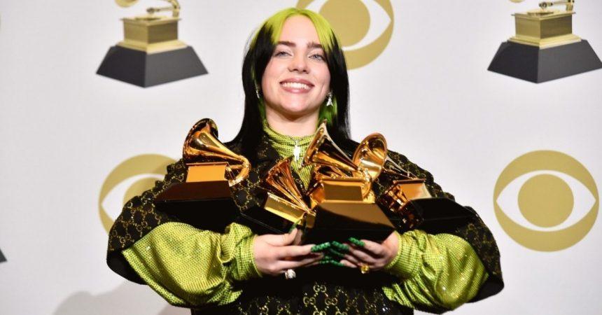 Billie Eilish: Top 5 colores de pelo